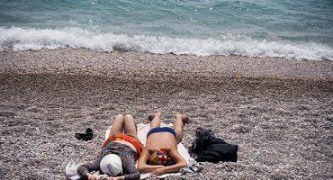 Sonne, Strand, Meer, Ukraine