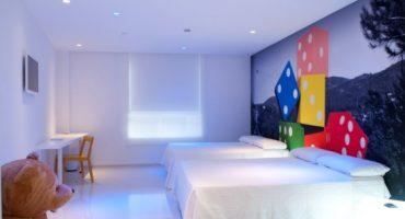 Ein verspieltes Hotel in Alicante