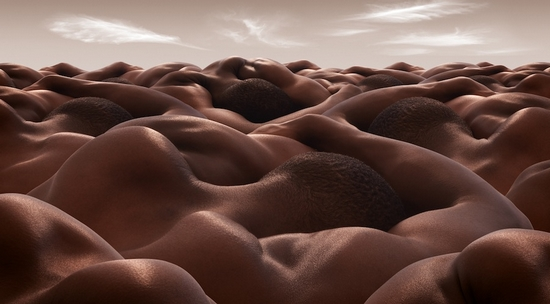 Desert of Sleeping Men
