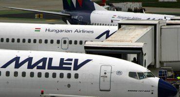 Jetzt stellte auch Malév den Flugbetrieb ein