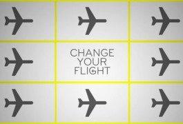 Haben Sie ein Flugticket, das sie nicht nutzen können? Change your flight!