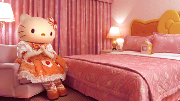 Reisen mit Hello Kitty