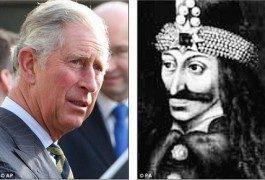Prinz Charles stammt von Dracula ab?