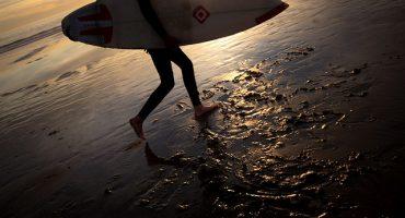 Auf den rekordverdächtigen Wellen Portugals