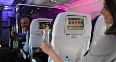 Virgin Atlantic bietet Flirt-Service über den Wolken