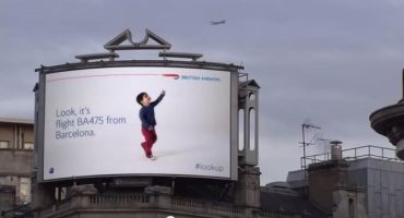 British Airways begeistert London mit digitaler Plakatwand