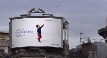 British Airways begeistert London mit digitaler Plakatwand