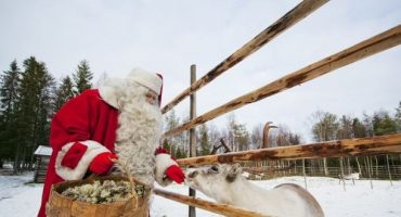 Rovaniemi: Der Weihnachtsmann wohnt in Finnland