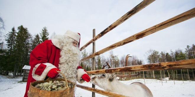 rovaniemi der weihnachtsmann wohnt in finnland. Black Bedroom Furniture Sets. Home Design Ideas
