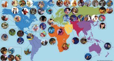 Märchenreisen: Wo wohnen Disneys Prinzessinnen und Prinzen?