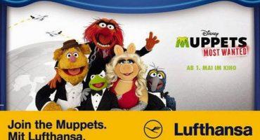 """Flauschiger Werbepatzer? """"Join the Muppets.Mit Lufthansa."""""""