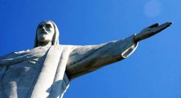 Selfie auf der Christus-Statue