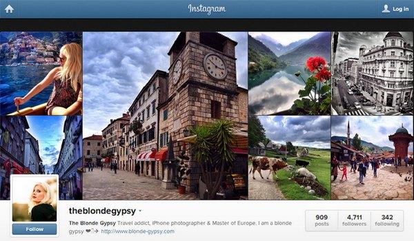 theblondegypsy bei Instagram