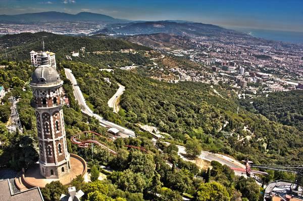 Blick vom Tibidado