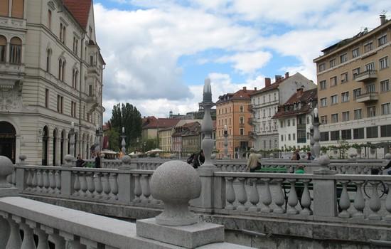 Tromostovje - Drei Brücken
