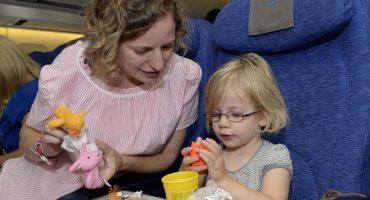 British Airways testet Kinderspielzeug
