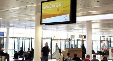 City Airport Bremen setzt auf digitale Medien