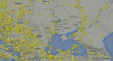 Luftraum über Ostukraine gesperrt