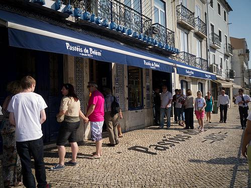 Hier finden sie Ihr Pastel de Belém