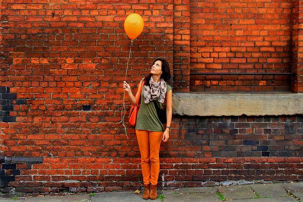Orange für Ihren Donnerstag in Thailand