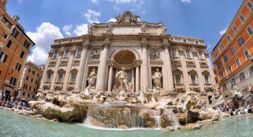 Trevi-Brunnen in Rom wird restauriert