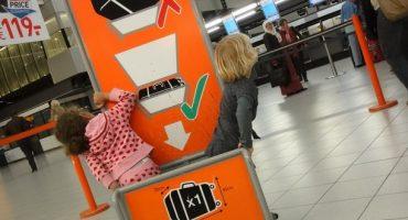 Gepäck bei Easyjet: Preise, Gewicht, Dimensionen…