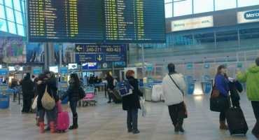 Big Brother am Flughafen Helsinki-Vantaa