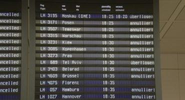 Streik der Lufthansa-Piloten in München