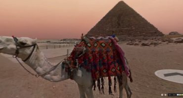 Google Street View entdeckt die Pyramiden