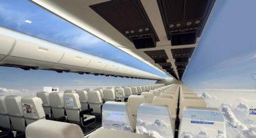 Das neue Flugzeug ohne Fenster