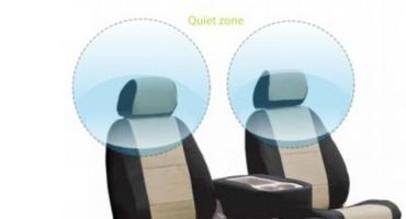 Ruhezonen im Flugzeug
