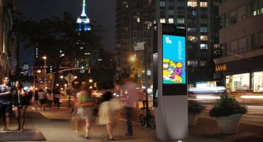 New York präsentiert die Telefonzelle der Zukunft