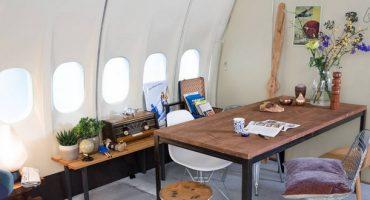 Mit Airbnb im Flugzeug übernachten