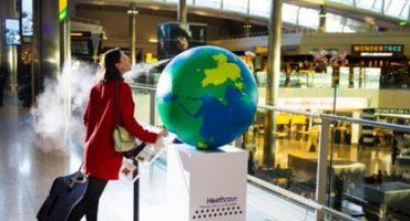 Riechen Sie die Welt am Flughafen Heathrow