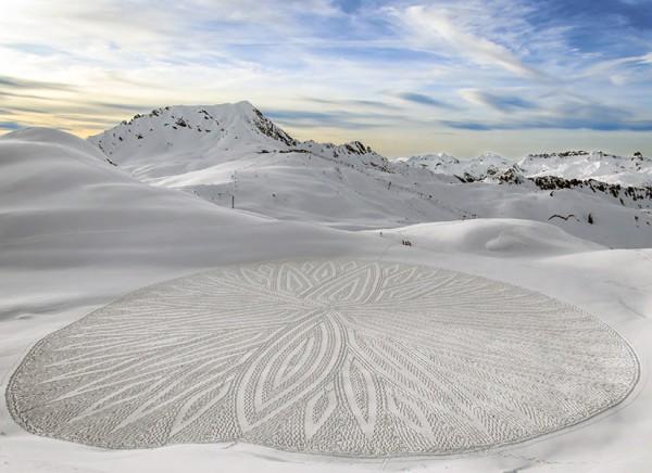 schnee-kunst-kreis