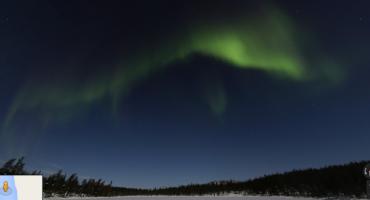 Google Street View zeigt Nordlichter