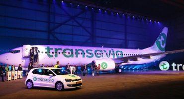 Neues Design für Transavia