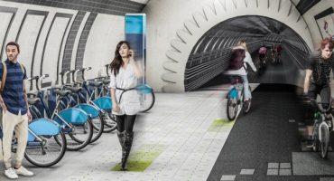London: Fahrradwege in U-Bahn-Röhren?