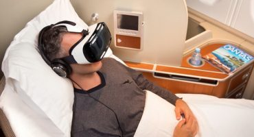 Qantas testet Virtual-Reality-Brille