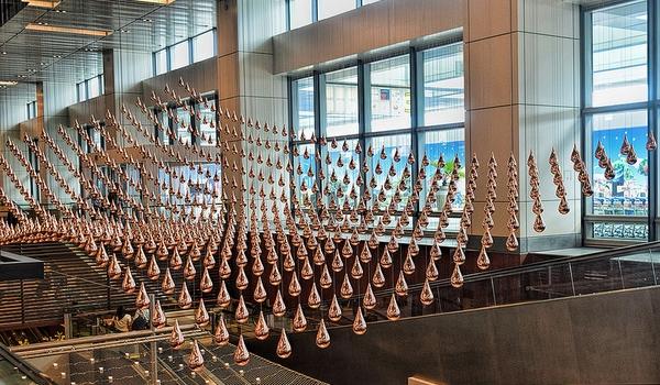 changi-flughafen-kunst-installation