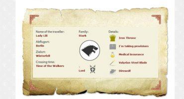 Mit Vueling nach Westeros