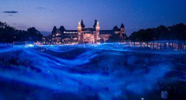 Lichtflut in Amsterdam