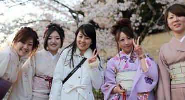 Kimono-Tag für mehr Touristen