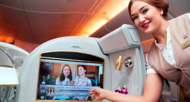 YouTube im Emirates-Bordprogramm