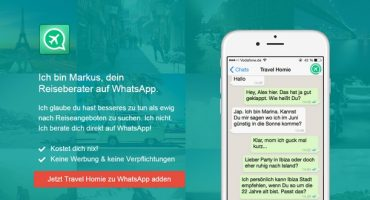 Travel Homie: Ihr WhatsApp-Reiseberater