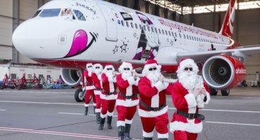 Das ist der neue Weihnachtsflieger von airberlin