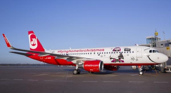 airberlin-weihnachtsflugzeug