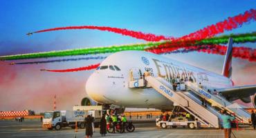 Einsatz präsentiert Airbus A380 mit 615 Sitzplätzen