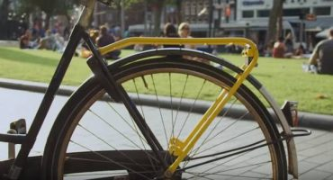 Yellow Backie: Fahrradtaxi in Amsterdam
