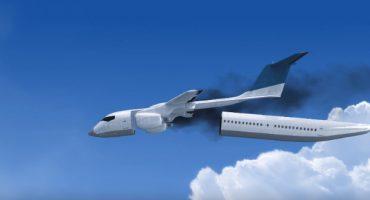 Flugzeug mit Rettungskapsel für Passagiere